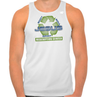 Jesus Recycle Redemption Center T-shirts