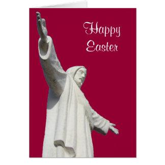 jesus red easter greeting card