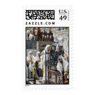 Jesus Rejected at Nazareth Postage