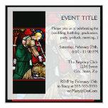 Jesús rescata un cordero de dios invitación 13,3 cm x 13,3cm