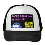 Jesus rescues sinners christian gift trucker hat