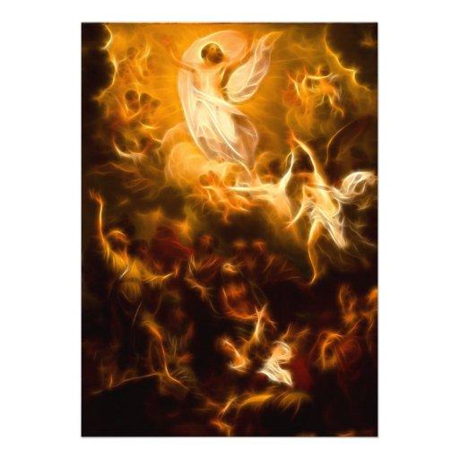 Jesus Resurrection Personalized Invites