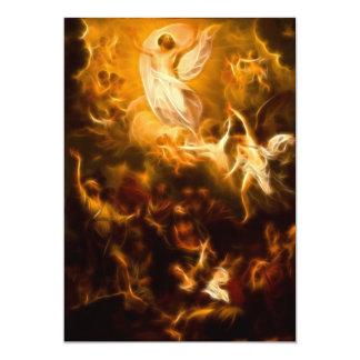 Jesus Resurrection 5x7 Paper Invitation Card