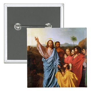 Jesus Returning the Keys to St. Peter, 1820 Button
