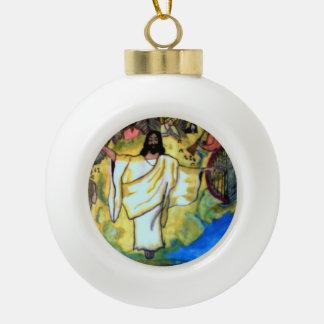 JESUS RETURNS ornament