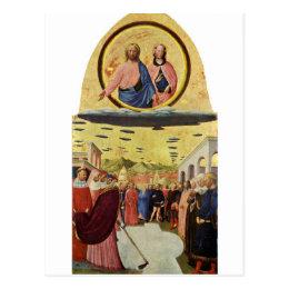 Jesus Rides a UFO Postcard
