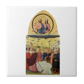 Jesus Rides a UFO Tile