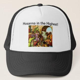 Jesus Rides the Donkey into Jerusalem Trucker Hat
