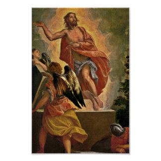 Jesus Rises From the Tomb Poster
