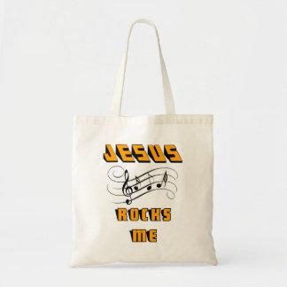 Jesus Rocks Me Tote Bag