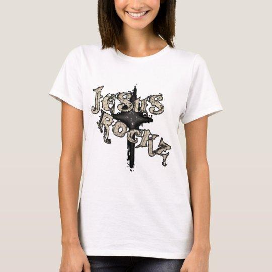 Jesus Rockz Christian T-Shirt