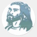 Jesus Round Stickers
