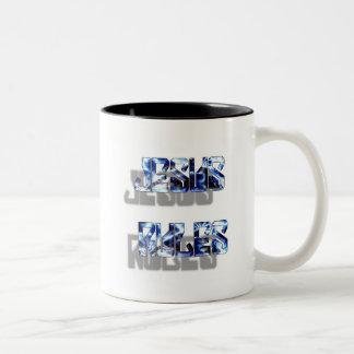 Jesus Rules Coffee Mugs