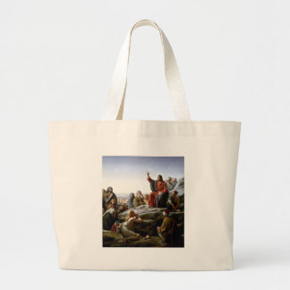 Jesus 's Sermon-on-The-Mount-by-Bloch Canvas Bag