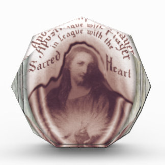 Jesus Sacred Heart Hanging Wall Plaque Icon