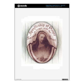Jesus Sacred Heart Hanging Wall Plaque Icon Decals For iPad 3