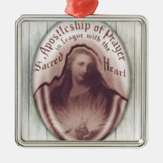 Jesus Sacred Heart Hanging Wall Plaque Icon Metal Ornament