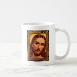 JESUS SACRED HEART  WOOD FRAME 08 CUSTOMIZABLE PRO COFFEE MUGS