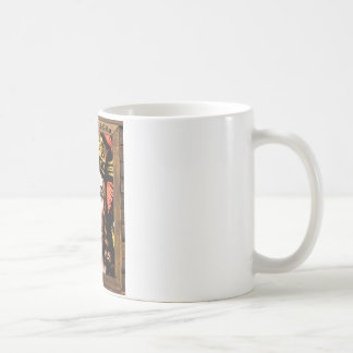 JESUS SACRED HEART  WOOD FRAME 13 CUSTOMIZABLE PRO CLASSIC WHITE COFFEE MUG
