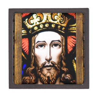 JESUS SACRED HEART  WOOD FRAME 13 CUSTOMIZABLE PRO PREMIUM GIFT BOXES