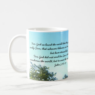 Jesus Sacrifice. God's pardon. John 3:16 Mug