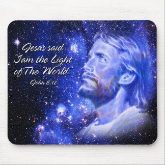 """Jesus said """" I am... Mousepads"""