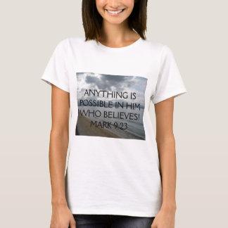 Jesus said unto him, If thou canst......Mark 9:23 T-Shirt