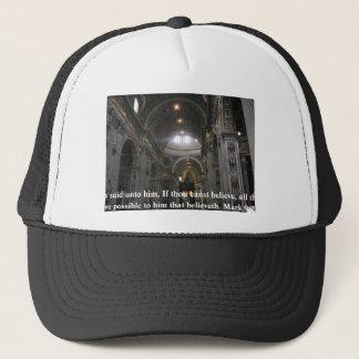 Jesus said unto him, If thou canst......Mark 9:23 Trucker Hat