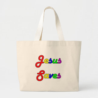 Jesus Saves Bag