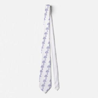 jesus saves blue tie