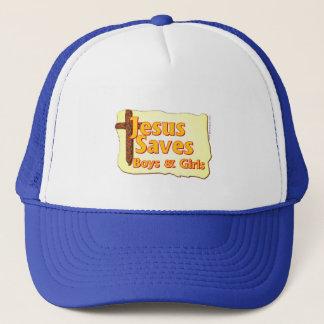 Jesus Saves Boys & Girls Trucker Hat