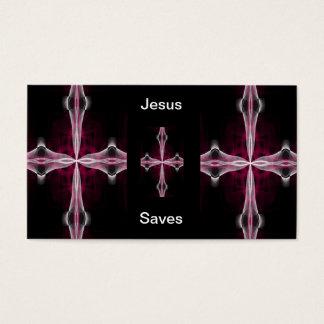 Jesus Saves business cards