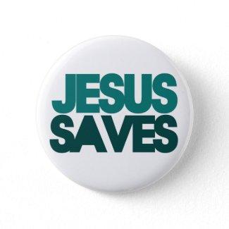 Jesus Saves Pin