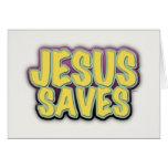 Jesus Saves Cards