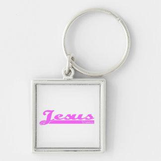 Jesus Saves christian gift Keychain