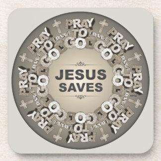 Jesus Saves Coaster