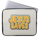 Jesus Saves Computer Sleeves
