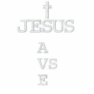 Jesus Saves (CROSS) Embroidered Hoodie