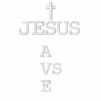 Jesus Saves (CROSS) Embroidered Shirts