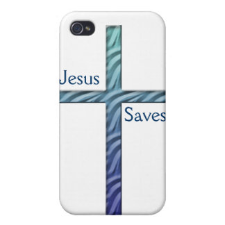 Jesus Saves-Cross iPhone 4/4S Covers