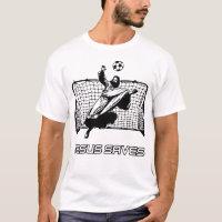 Jesus Saves Goalkeeper Christianity T-Shirt