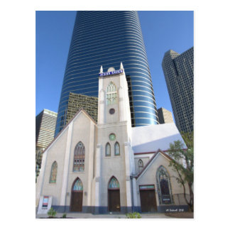 Jesus Saves Houston Postcard