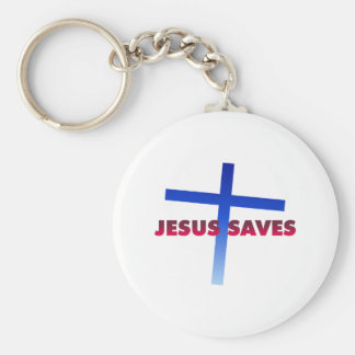 Jesus Saves Keychain