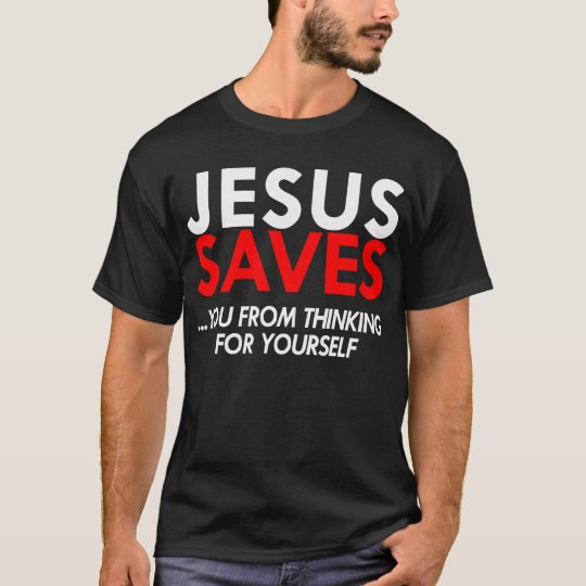 Jesus Saves Men's Shirt
