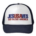 Jesus Saves Mesh Hats