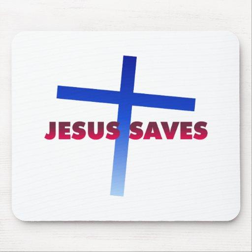 Jesus Saves Mouse Mats