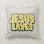 Jesus Saves Pillow