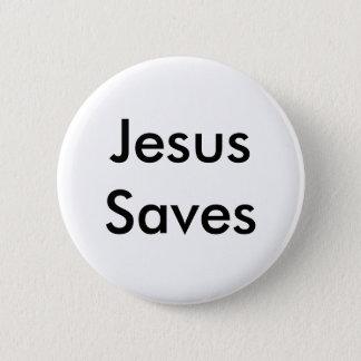 Jesus Saves Pinback Button