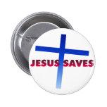 Jesus Saves Pins
