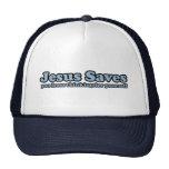Jesus Saves Satire Mesh Hat